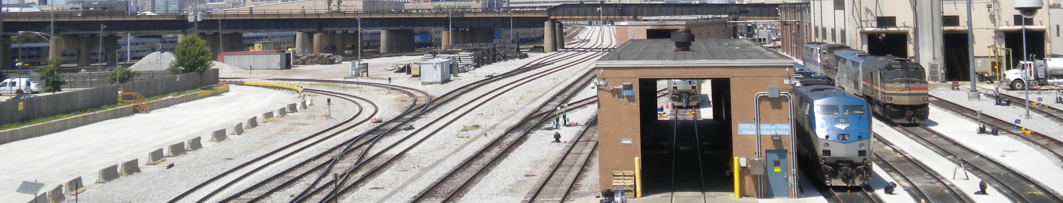 Chicago, Canal street coach yard for Amtrak & Metra