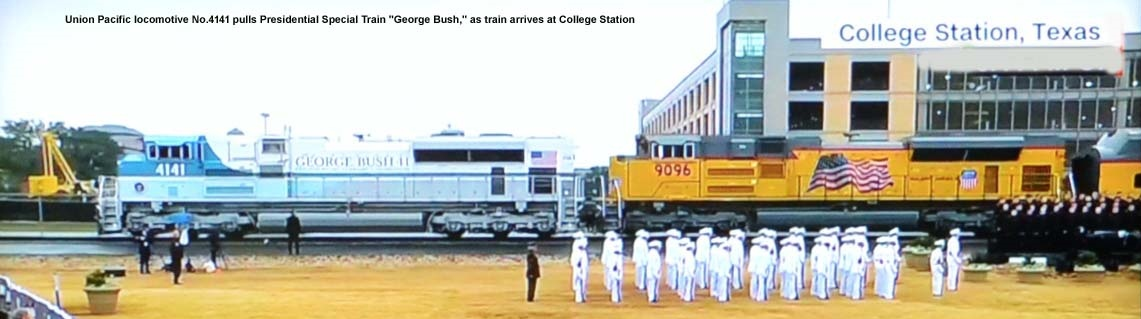 UP train No.4141 George Bush ll