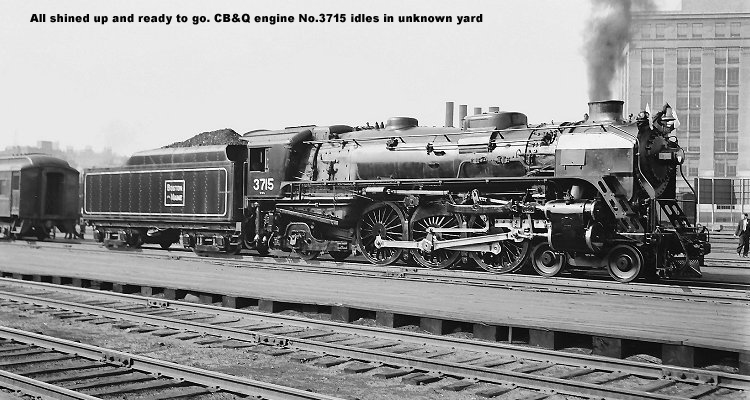 CB&Q engine No.3715