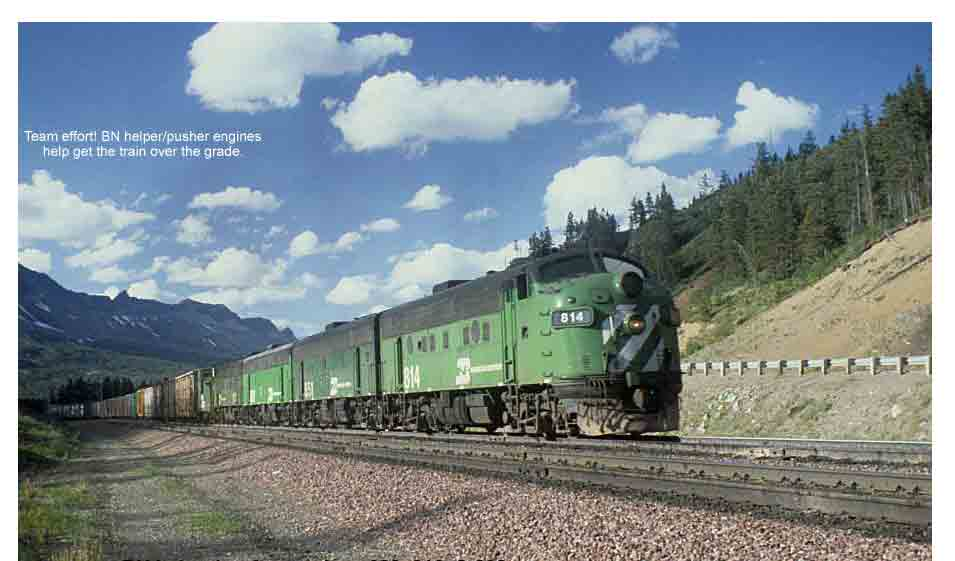 BN helper/pusher engines 682, 816, & 808
