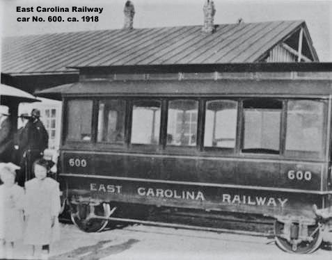 EC car No. 600