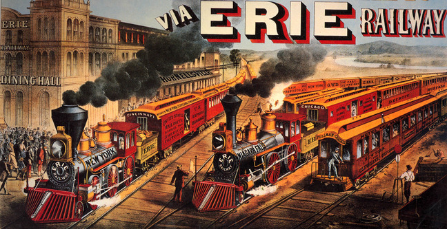 Erie advertisement