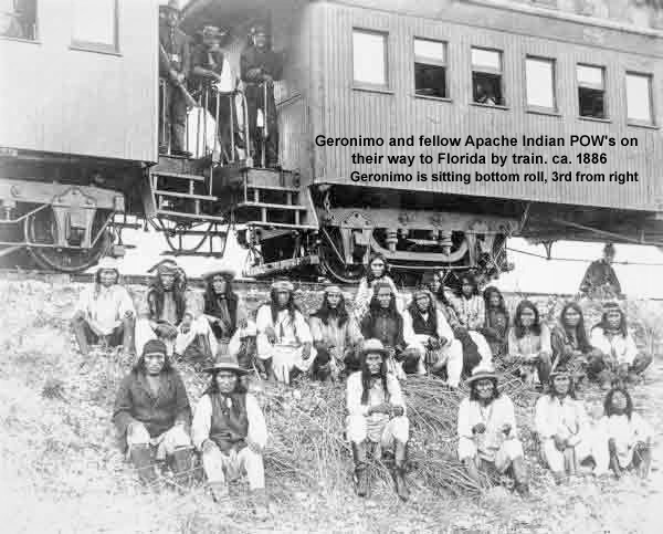 Geronimo and fellow Apache Indian