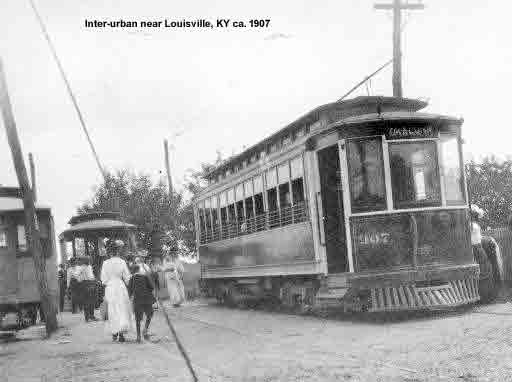 L&I RR Interurban rail car No.907