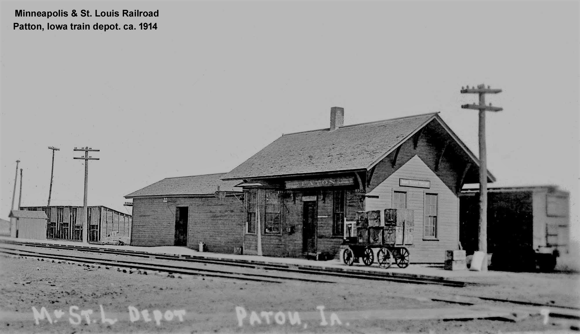 Patton, Iowa depot