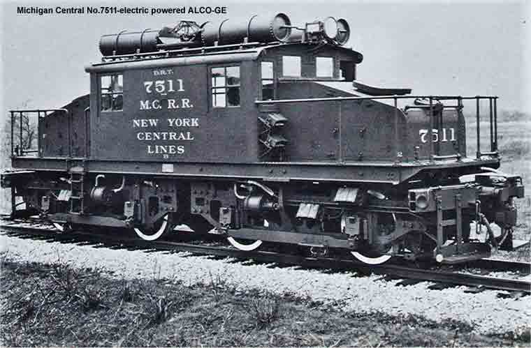 MC R.R. No.7500-electric powered ALCO
