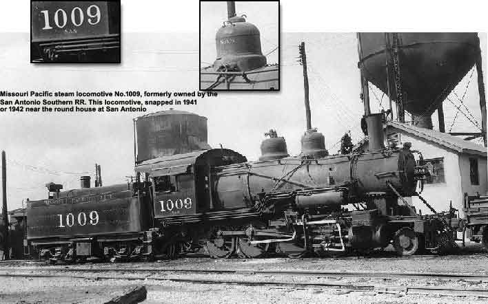 San Antonio Southern locomotive