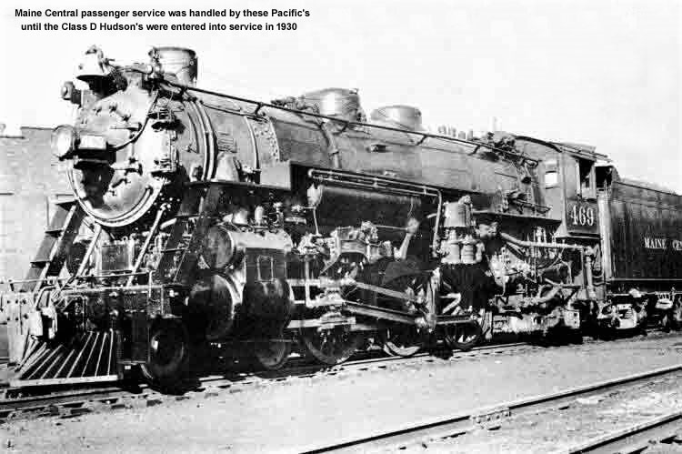 Maine Central Pacific locomotive