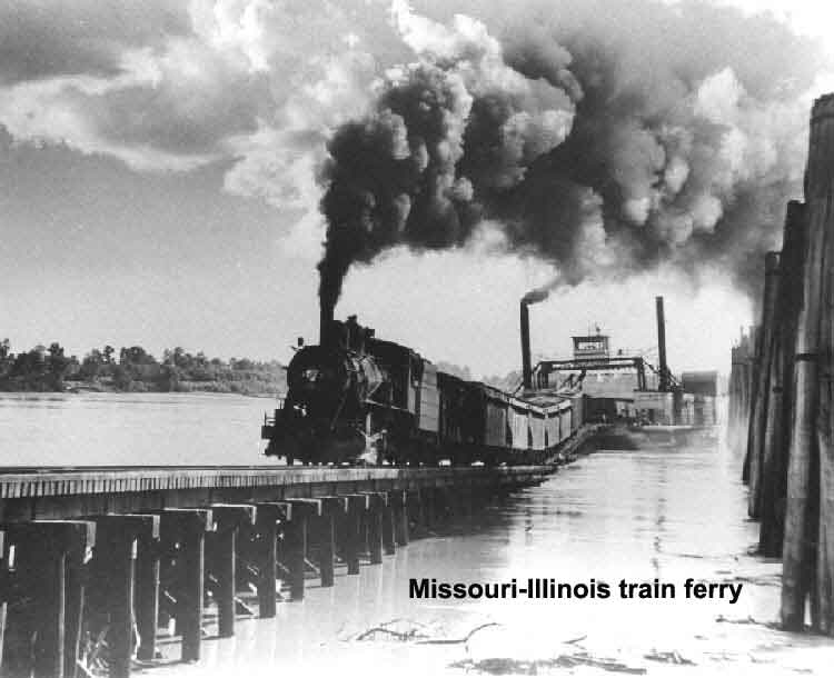 Missouri-Illinois train ferry
