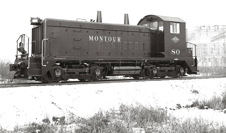 Montour switcher No.80
