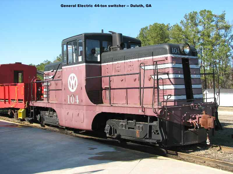 General Electric 44-ton switcher, Duluth, GA
