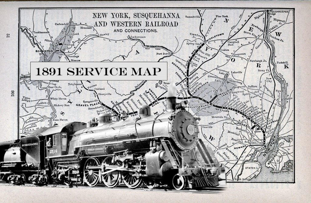 NYS&W Map