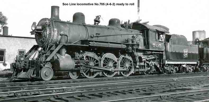 Soo Line engines