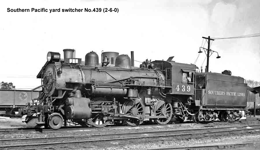 SP yard switcher No.439