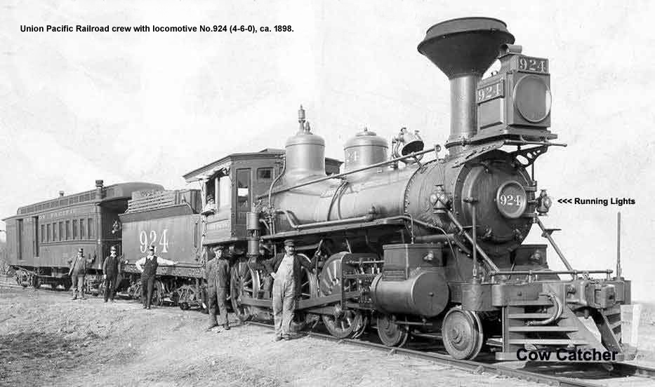 Union Pacific Railroad locomotive No.924