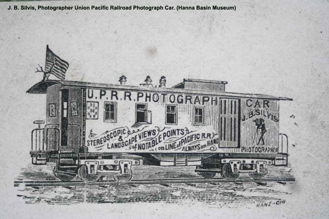 Traveling photographer for the Union Pacific Railroad