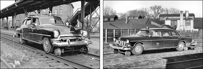 NYC Inspection Cars M-100 and X-104