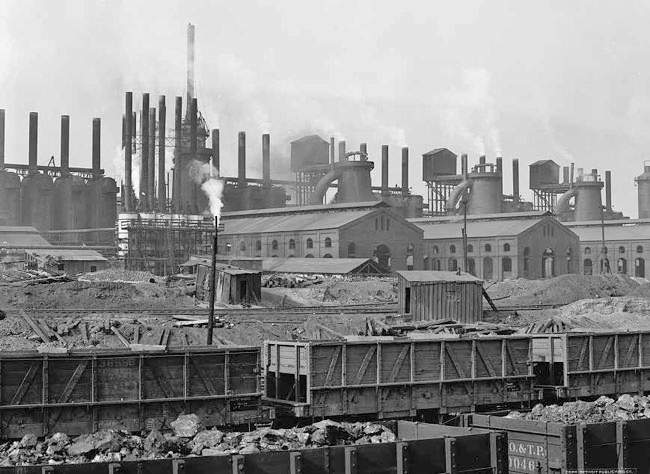 Tennessee Coal & Iron R.R., Ensley Works