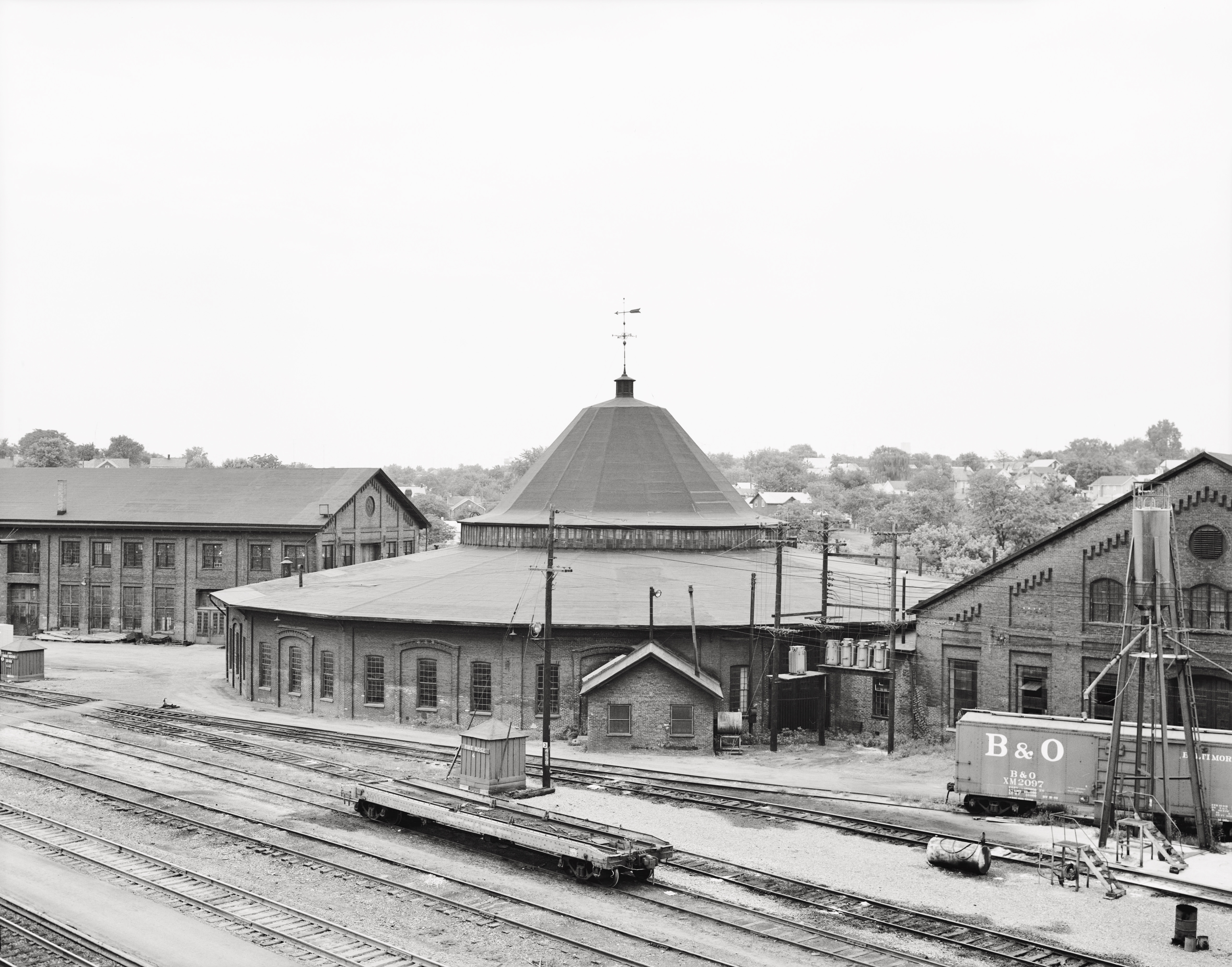 B&O R.R. Martinsburg West Roundhouse