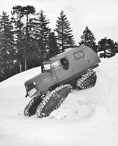 A Pacific, Gas & Electric Sno-Cat