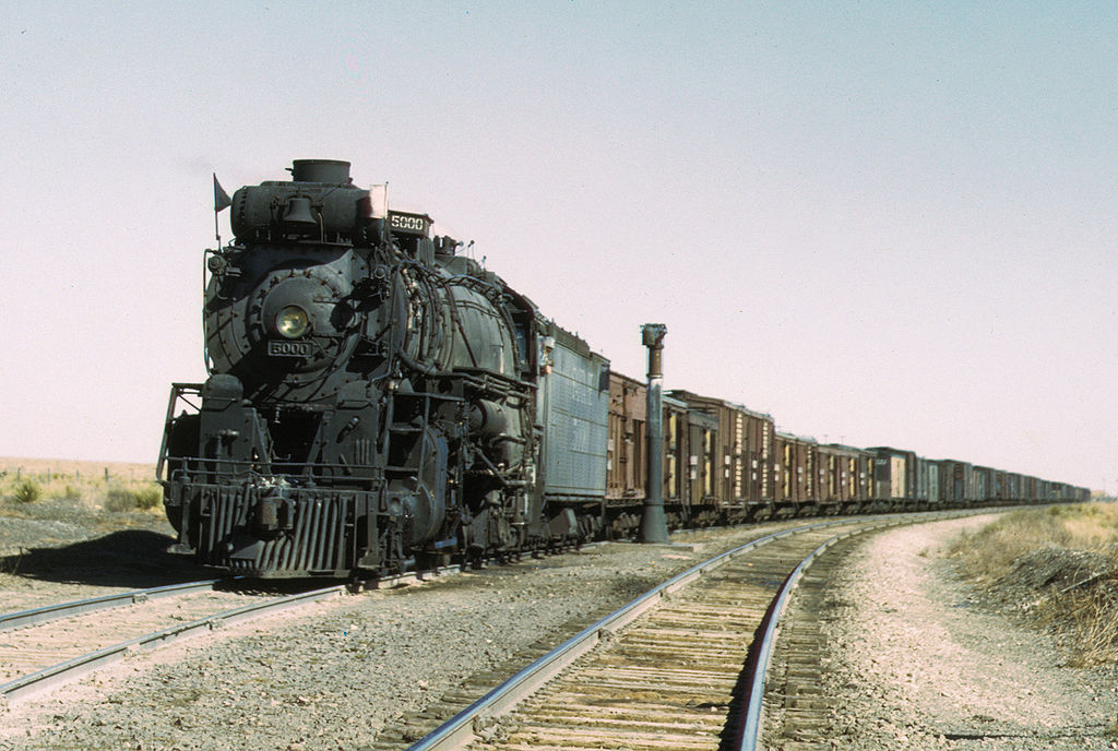 Atchison-Topeka & Santa Fe 5000 nicknamed Madame Queen