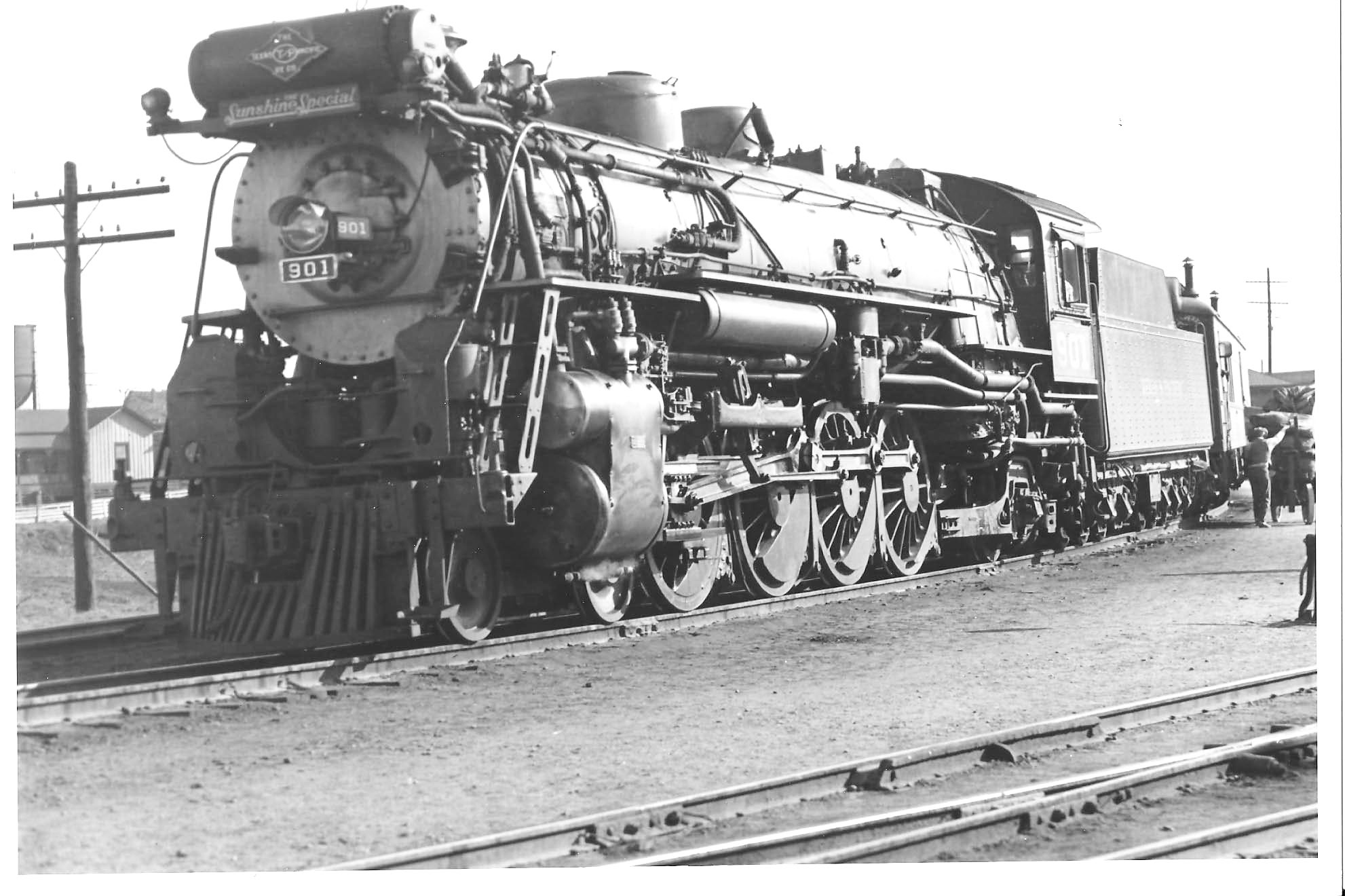 Image result for texas & pacific texas steam locomotives